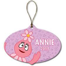 buy personalized yo gabba gabba foofa pink backpack ring