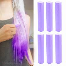 Light Purple Color by Best Temporary Lilac Nicole Richie Hair Dye Set Lilac 6