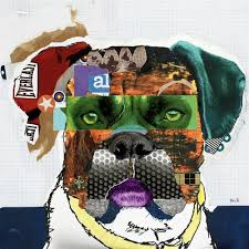 boxer dog wall art dog art gallery dog art prints on canvas dog art prints on