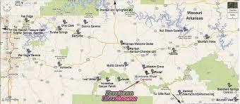 missouri caves map guided cave tours branson harrison marshall rock arkansas