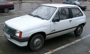 opel corsa 2004 sedan opel corsa a