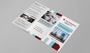 free trifold brochure template for photoshop u0026 illustrator