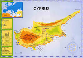 Asia Geography Map North Cyprus Geography And Maps Cyprus Online Maps Geographical
