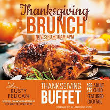 thanksgiving brunch buffet pelican miami