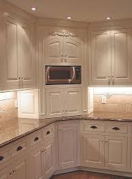 corner kitchen ideas corner kitchen cabinet for microwave kitchen design