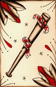 baseball bat tattoos cool tattoos bonbaden