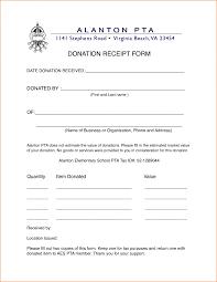 non profit organization invoice template donation receipt