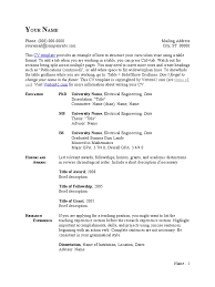 thesis in electrical engineering cv template table format thesis resume