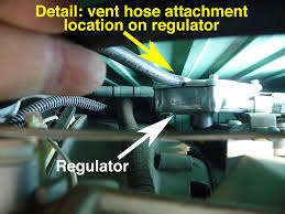 cleaning out the regulator vent hose on your rv u0027s onan microquiet