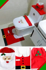 Christmas Bathroom Decor Amazon by 14 99 Christmas Funny Elf Toilet Seat Cover Topper From Otc Get