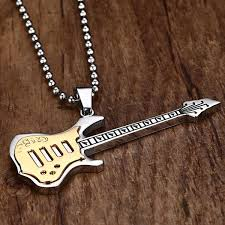 stainless steel guitar necklace images Electric guitar necklace aspire gear jpg