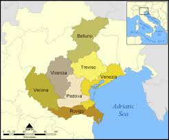 Italy Regions Map by Luce In Veneto Clusters In The Third Italy Regionomist