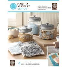 martha stewart kitchen canisters martha stewart crafts floral doily adhesive silkscreens 32932