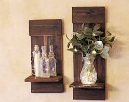 Barnwood Wall Shelves Barn Wood Shelves Etsy