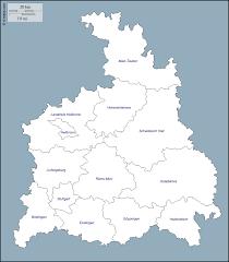 Map Of Stuttgart Germany by Stuttgart Region Free Map Free Blank Map Free Outline Map