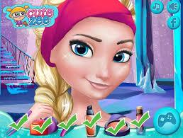 frozen prom makeup design disney princess frozen game for little s
