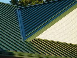 Burgundy Metal Roof Pictures by Standing Seam Metal Roofing For Northern Ohio
