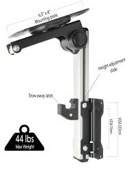 vivo manual flip down mount folding pitched roof ceiling mounting