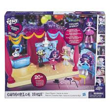 my little pony equestria girls minis canterlot high dance playset