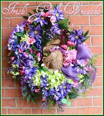 Springtime Wreaths Irish U0027s Wreaths Where The Difference Is In The Details