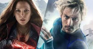 quicksilver movie avengers scarlet witch and quicksilver s avengers age of ultron posters