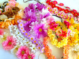 hippie flower headbands mystery flower crown bargain flower crown headband