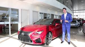 lexus calgary service department car of the week 2015 lexus rc f lexus of calgary