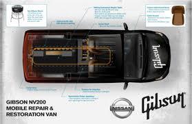 nissan nv200 cargo gibson guitar x nissan nv200 mobile repair van freshness mag