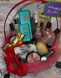 very great idea give your wife an easter basket with make up and