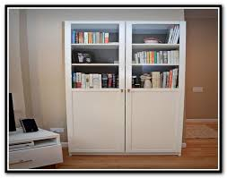 Billy Bookcases With Doors Ikea Billy Bookcase Doors Canada Home Design Ideas
