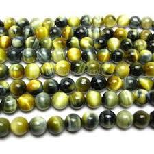 Handcrafted Handmade Semiprecious Gemstone Beaded Tiger Eye Round Beads Beadage