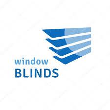 window blinds logo u2014 stock vector loca 71759179