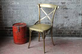 Distressed Bistro Chair French Bistro Chair Industrial Antique By Hammerandhandimports