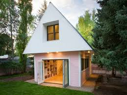 tiny house studio loom artist studio is a tiny pink house boasting big eco