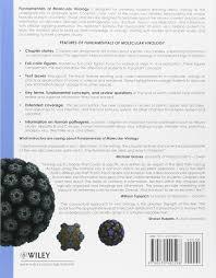 fundamentals of molecular virology nicholas h acheson