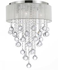 Chandelier With White Shade 10 Stunning Crystal Chandelier Lights Oh My Creative