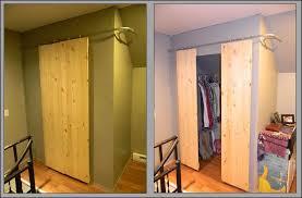 Diy Closet Door Diy Sliding Closet Doors Kit Buzzard