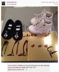 kim kardashian shows off designer christmas gifts for north west