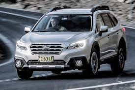 subaru outback 2018 white subaru diesels and six cylinder engine on the endangered list