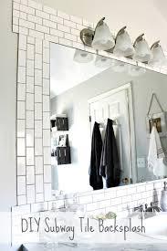 subway tile ideas for kitchen backsplash diy subway tile backsplash hometalk