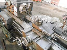 demoor straight bed centre lathe on auction now at apex auctions us