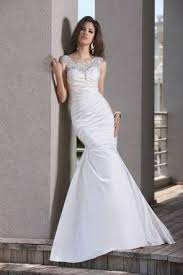 plain white wedding dresses wedding dress silhouettes mywedding