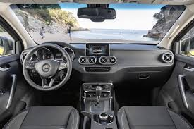 mercedes benz silver lightning interior mercedes x class official details pictures and video of new