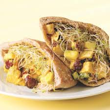 438 best kid friendly dinners images on pinterest chicken curried chicken pitas recipe eatingwell
