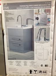 Laundry Room Sink Cabinet by Laundry Room Sink With Cabinet Costco Best Home Furniture Decoration