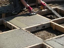 How To Pour Concrete Patio How To Create A Chessboard Patio How Tos Diy