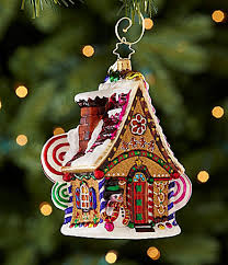 christopher radko home sweet home gingerbread house ornament