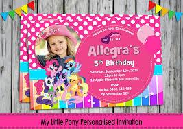 invitations my little pony free printable invitation design
