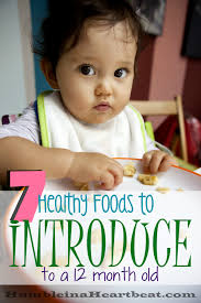 7 healthy foods to introduce at 12 months humble in a heartbeat