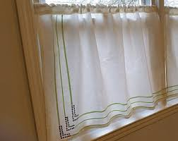 White Cafe Curtains White Cafe Curtains With Crochet And Kitchen Curtains